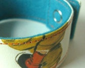 Book Binding Cuff/Bracelet/Bookmark: Little Visits with God