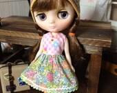 Middie Blythe size  colorful Liberty flower dress