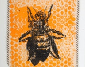 Worker Bee Canvas patch 5x6