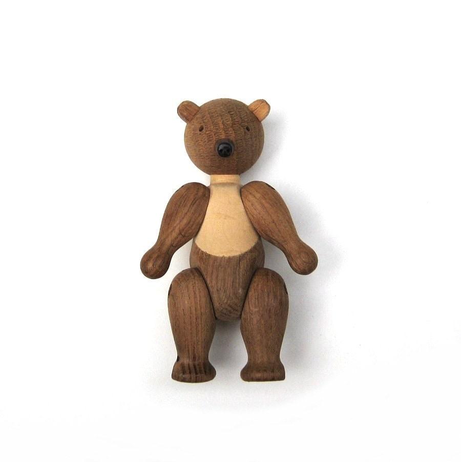 Kay Bojesen Wooden Bear Denmark Danish Modern Animal