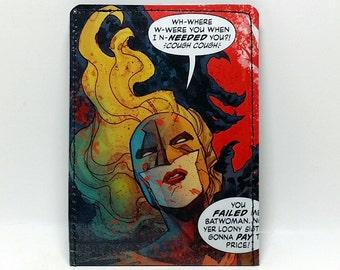 Sewn Comic Book Wallet - Batwoman - Hawkfire