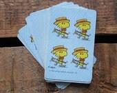 Vintage Barbershop Woodstock Playing Cards - Set of 15 - Snoopy, Peanuts