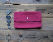 SALE - Polar Bear Hot Pink Pouch
