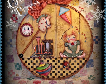 Apple Tree Cottage Original Design E Pattern  -  Olde Toys