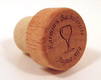 Bachelorette Party Wine Bottle Stopper