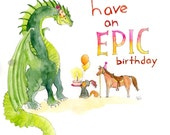 Have An Epic Birthday (card)
