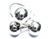 Silver Ball Ring Sterling Silver Circle Rings for Women Statement Jewellery