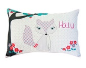 Foxy Girl personalised Cushion