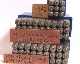 typewriter 3 mm letters and numbers cambria font news print font both cases metal stamping set old type font stamping letters