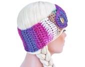 Gypsy Crochet Ear Warmer Headband