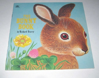 The Bunny Book A Little Golden Book Children's Book by Richard Scarry