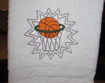 Basketball Sport Towel -