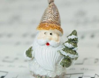 Glittery Santa - Set of 3 - #205-0158