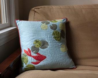 Large Koi Pond Pillow