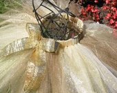 Four Toned Gold Glitter Tutu