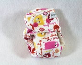 Final Clearance: Ooga Booga preemie / doll fitted cloth diaper / nappy made using organic bamboo / cotton
