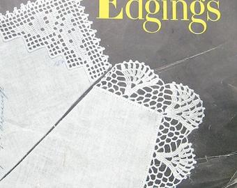 Vintage Handkerchief Edgings Crochet Pattern Book