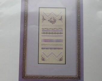 Secret Garden Cross Stitch Pattern by Lesa Steele