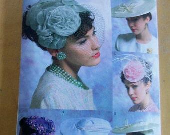Vogue V8052 Vintage Hat  sewing pattern