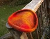 Felted Wool Flying Disc-Reserved for Karen
