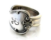 Spoon Ring Size 3 to 15 Signature With R Monogram