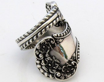 Spoon Ring Sterling Silver Size 6 to 12 Cambridge Gorham 1899