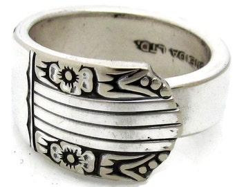 Spoon Ring All Sizes Harmony Pattern