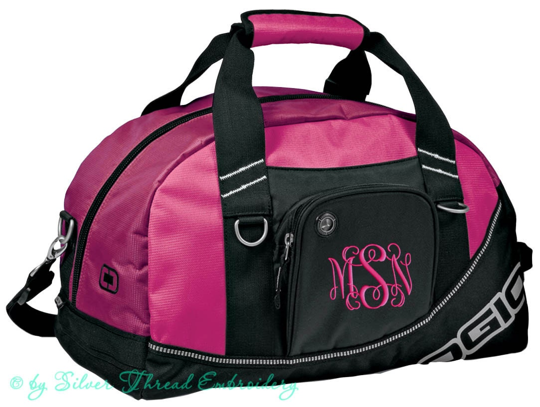 personalized duffle bag monogrammed duffel ogio by