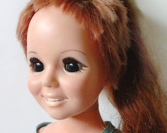 Vintage Crissy Ideal Doll with Growing Hair 1968