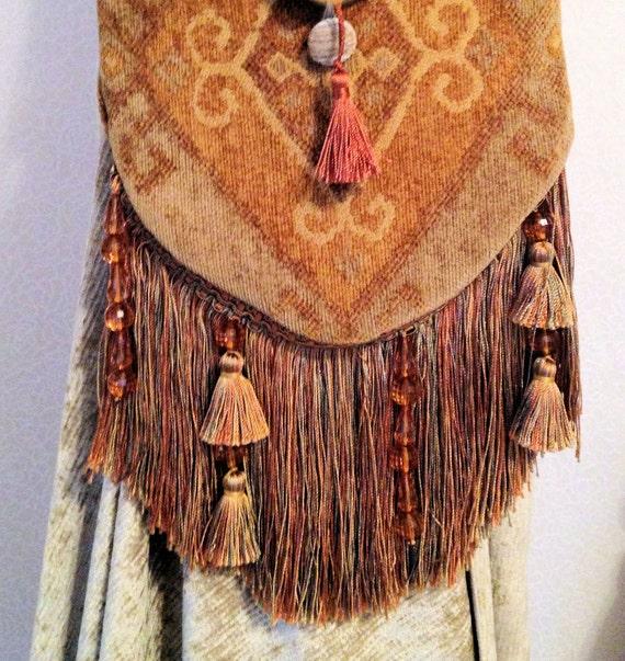 Bohemio boho cruzada cuerpo bolso w / franja n Borlas largas hermosa / /  Indie hippie americano nativo monograma personalizar bolsa,libre envío,Dz9nr