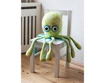 Octopus sewing pattern PDF