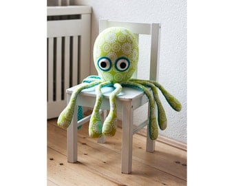 Octopus sewing pattern PDF