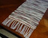 Handwoven Rag Rug Style Table Runner