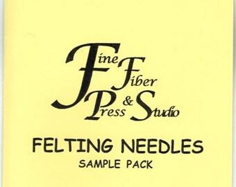 Felting Needle Sample Pack