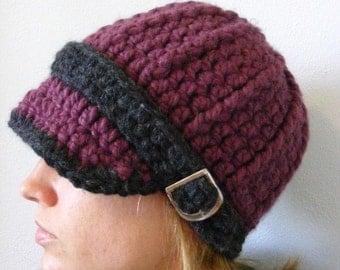 Custom Womens Hat 34 Colors Crochet Winter Hat Womens Beanie Crochet Hat Knit Buckle Beanie Visor Hat Visor Beanie Adult Hat Adult Beanie