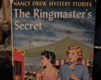 vintage nancy drew mystery stories the ringmasters secret carolyn keene