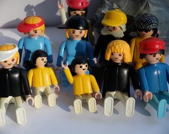 playmobil people 1974- 1980s esso  figurines mixed germany