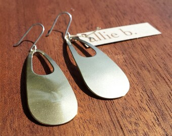 Bronze, Sterling, Silver, Lightweight, Big, Impact, Wing, Design, Boho, Chic, Timeless, Everyday, Earrings