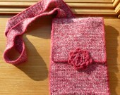 RESERVED FOR Kfleming928 Rosy Pink Crochet IPad case