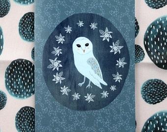 Lovely owl card cc87