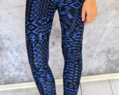 Greenstyle Lucy Leggings with Plain or Ruffle Hem Options PDF Sewing Pattern for Women Size 0-18
