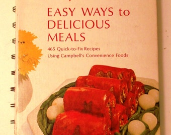 Campbells Easy Way to Delicious Meals Cookbook