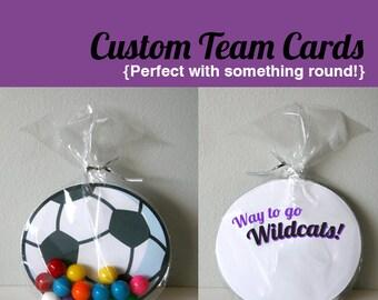 Custom Team Cards