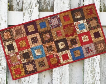 Quilted Table Runner - Cedar Box (EDTR36)