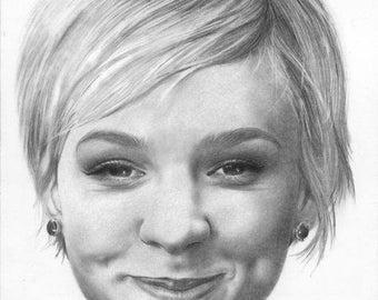 Carey mulligan Original Drawing