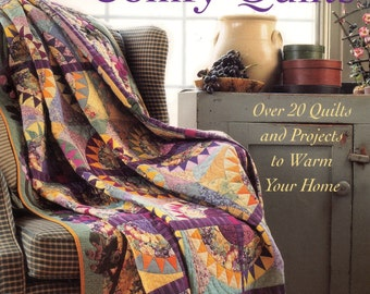 22 Quilt Projects, Colorful, Casual, & Comfy Quilts, Instruction Book, Quilt Patterns