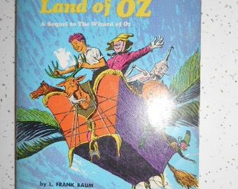 1970 Scholastic Book The Marvelous Land of Oz A Sequel to The Wizard of Oz by L. Frank Baum