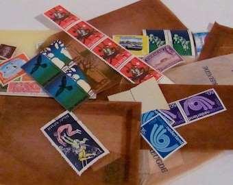 Vintage Nederland Stamps