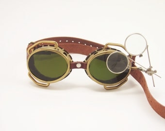 Steampunk Goggles Steam Punk Victorian Cosplay LARP Steampunk Eyeware