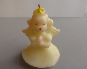 Vintage Gurley 3 Inch Angel Candle